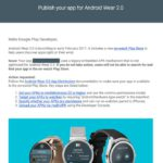 Google dials up February release date for Android Wear 2.0