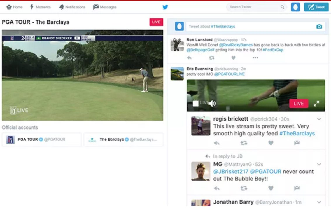 pga tour expanding live stream offerings on twitter