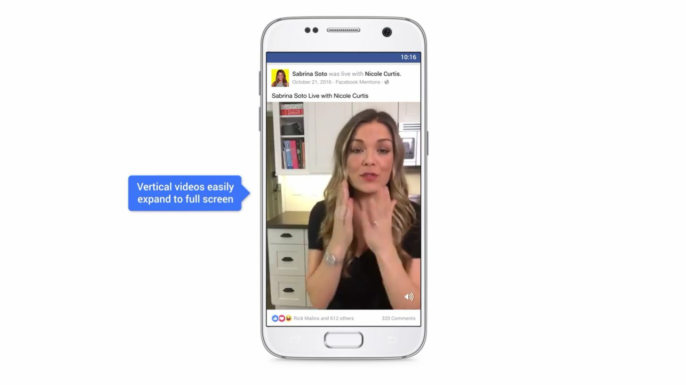 Facebook brings auto playing sound to videos in its news for Channel 10 the living room facebook