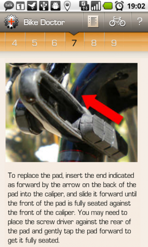 Bike Doctor Instructions
