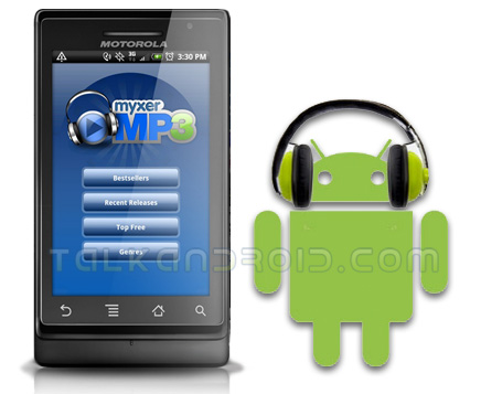 Myxer MP3 for Android
