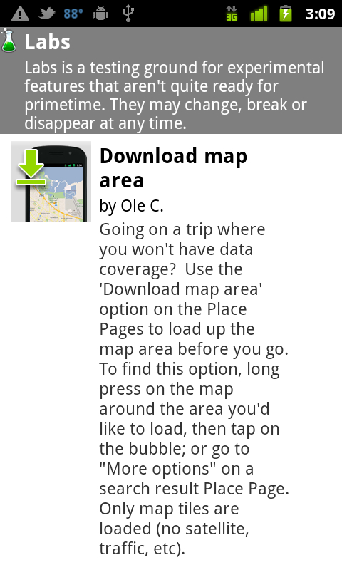 Google Maps now lets you download map data for offline use ... on