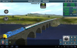 A Tegra 2 shot of Trainz Simulator for Android