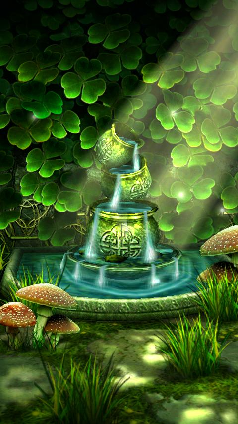 Celtic Garden 3D Live Wallpaper, Bringing Serenity To Your