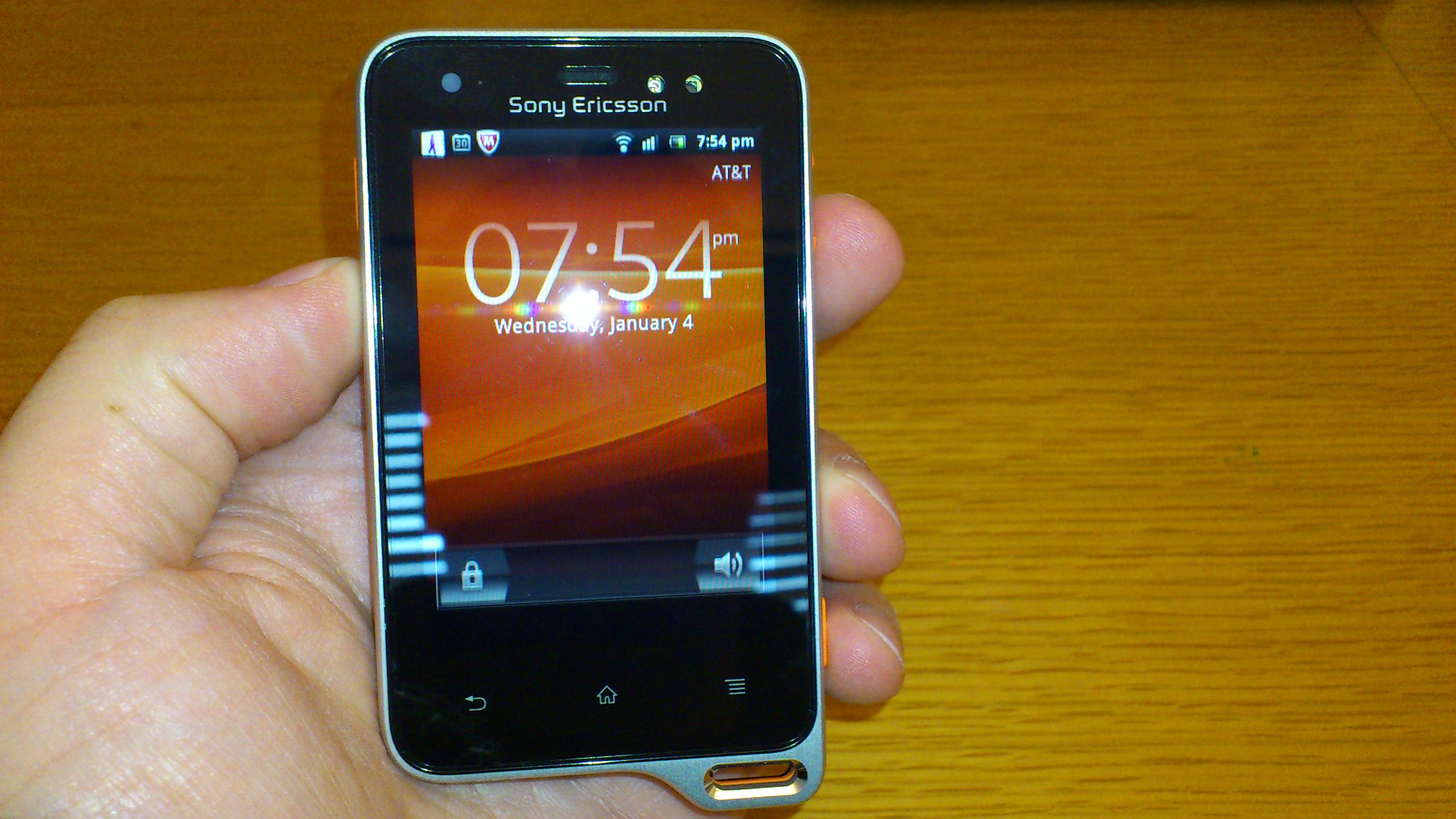 Sony Ericsson Xperia Active Review |