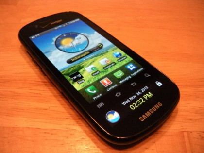 Samsung Continuum Getting Android 2.2.2 Froyo Update