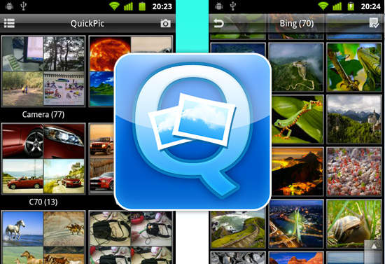 QuickPic Gallery App Updated, v2 0 Offering New UI, Apps2SD And More