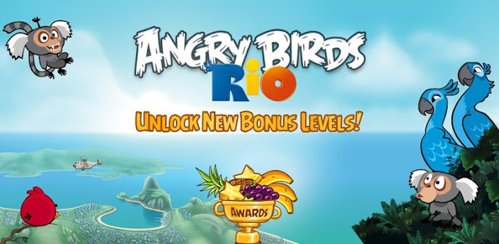 angry birds rio gets 12 new bonus levels available for download in the play store. Black Bedroom Furniture Sets. Home Design Ideas