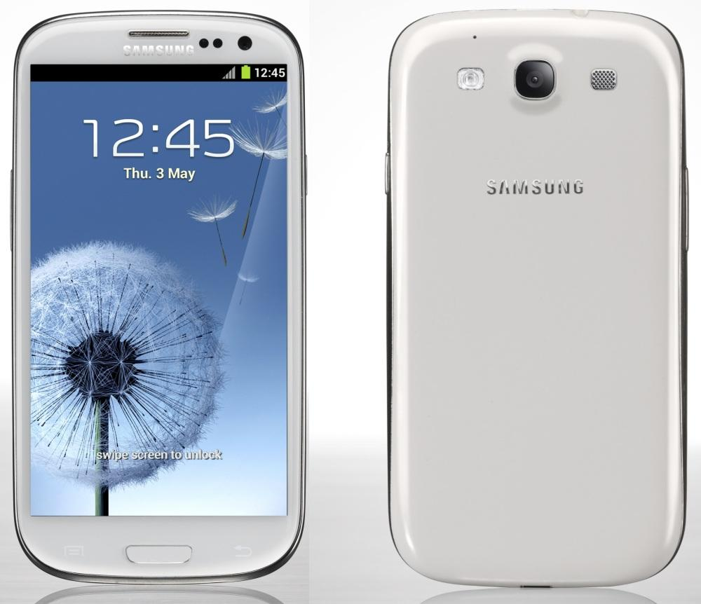 samsung phone back. release of 64gb samsung galaxy s iii still planned for second half 2012 | talkandroid.com phone back n