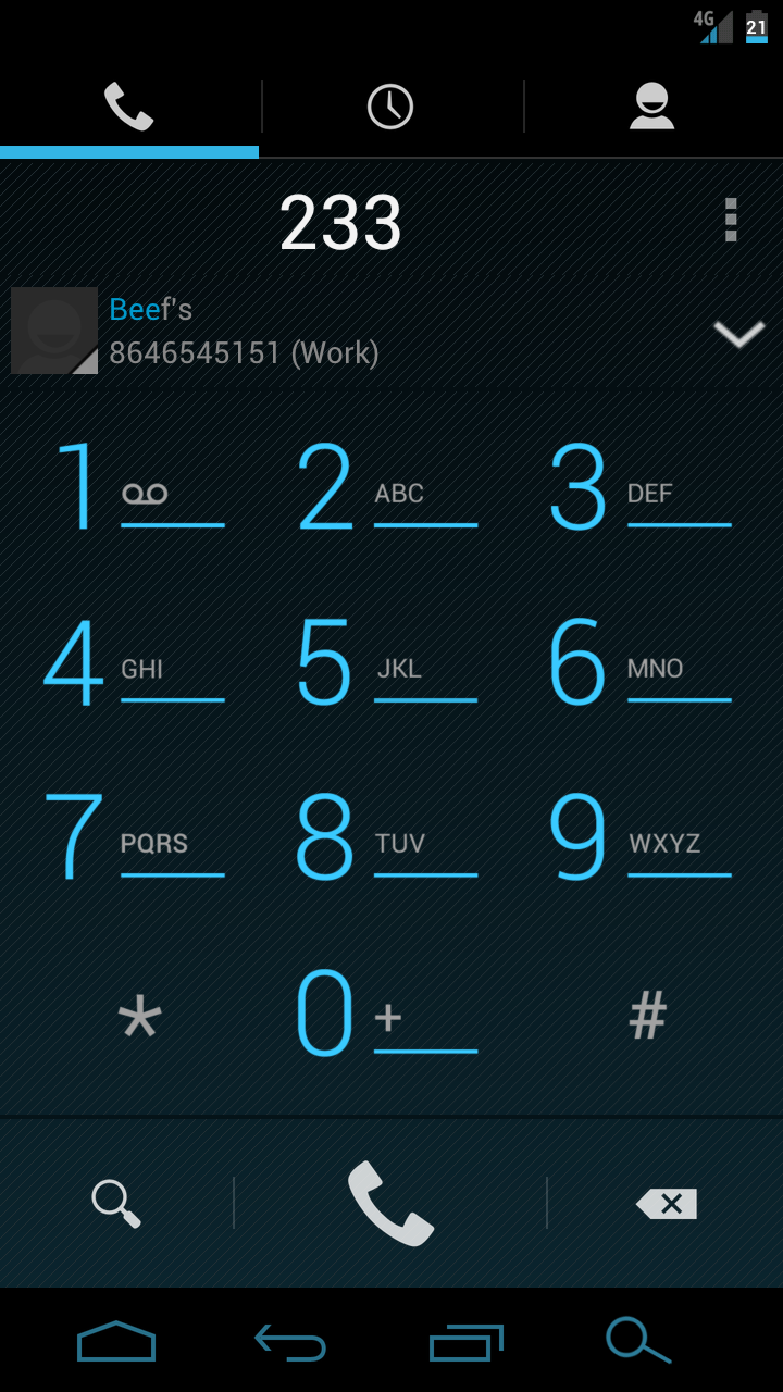 Three flaws google needs to fix to make stock android even better cm10s t9 dialer stock androids dialer buycottarizona