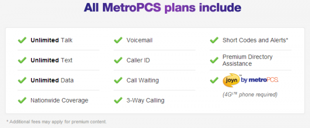 Metro PCS rolls out new tiers for LTE plans | TalkAndroid com