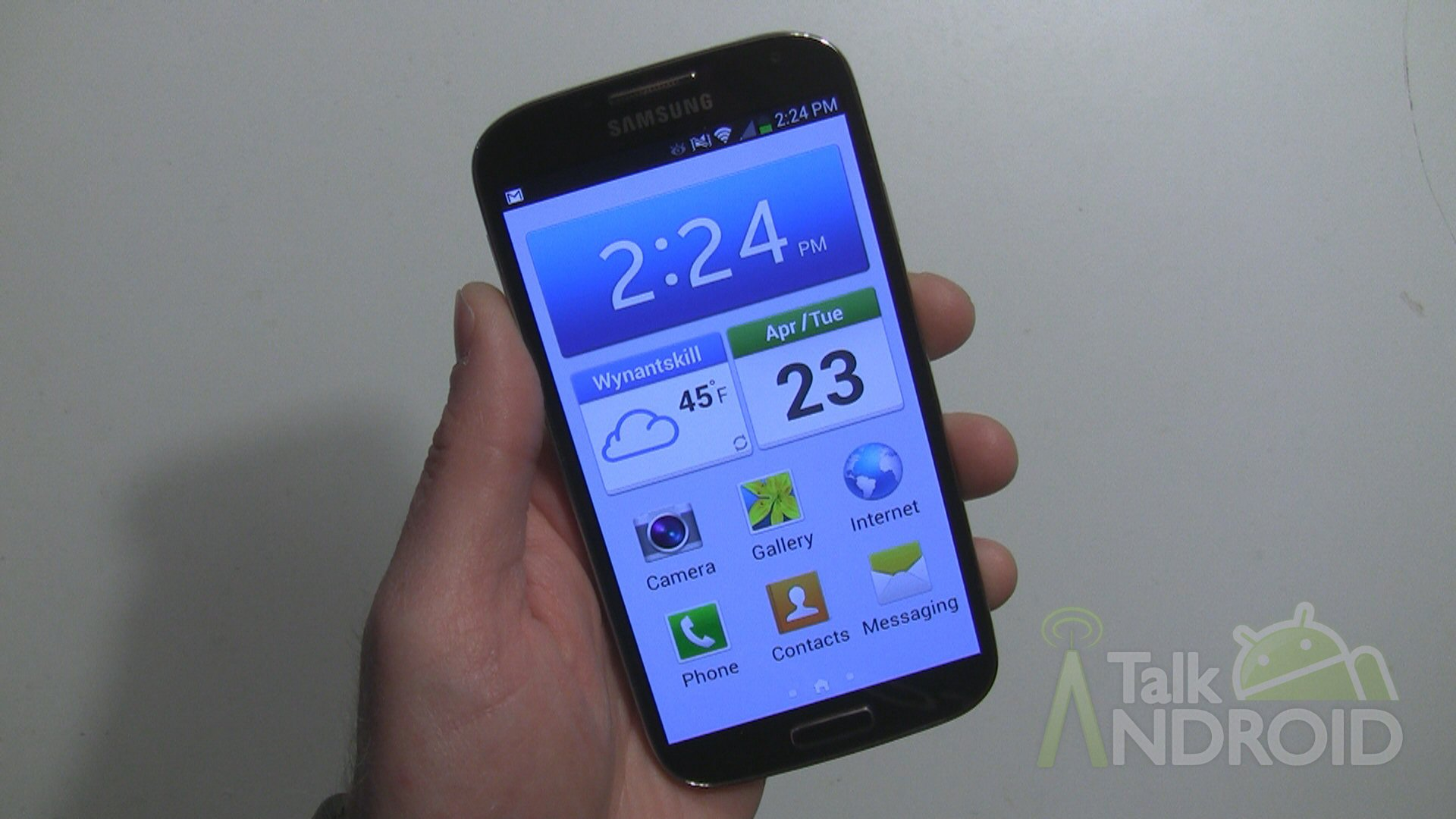 For The Beginner How To Set The Galaxy S 4 To Easy Mode
