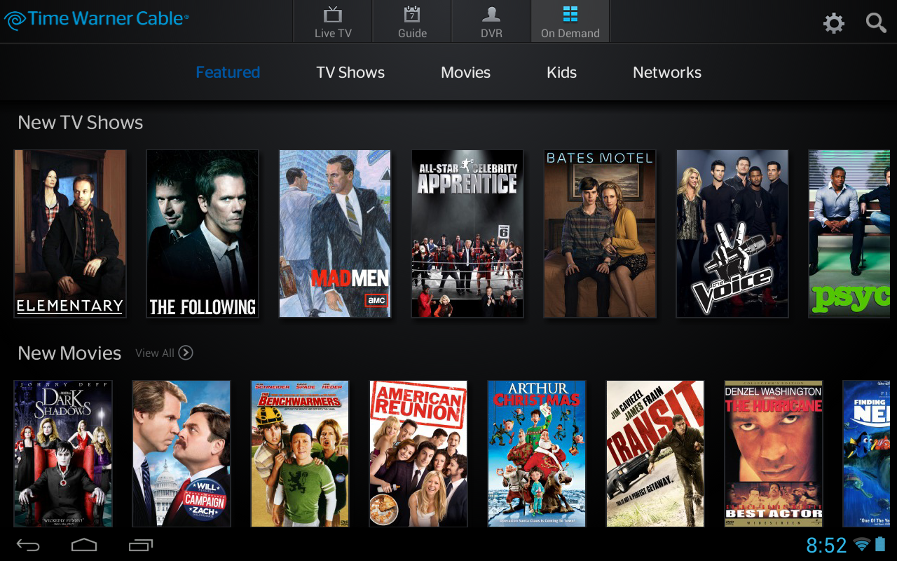 Time Warner Cable S Twc Tv App Updated To Allow Streaming