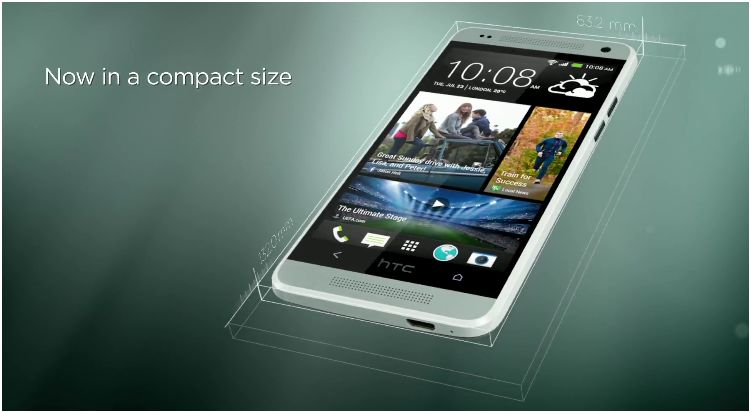 HTC releases 'First Look' video of the HTC One mini