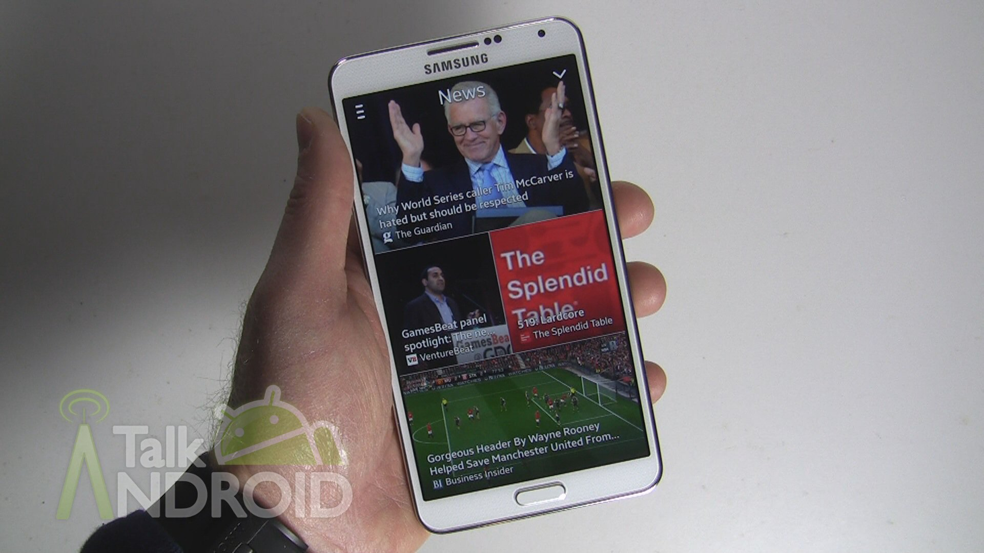 How to use My Magazine on the Galaxy Note 3 |