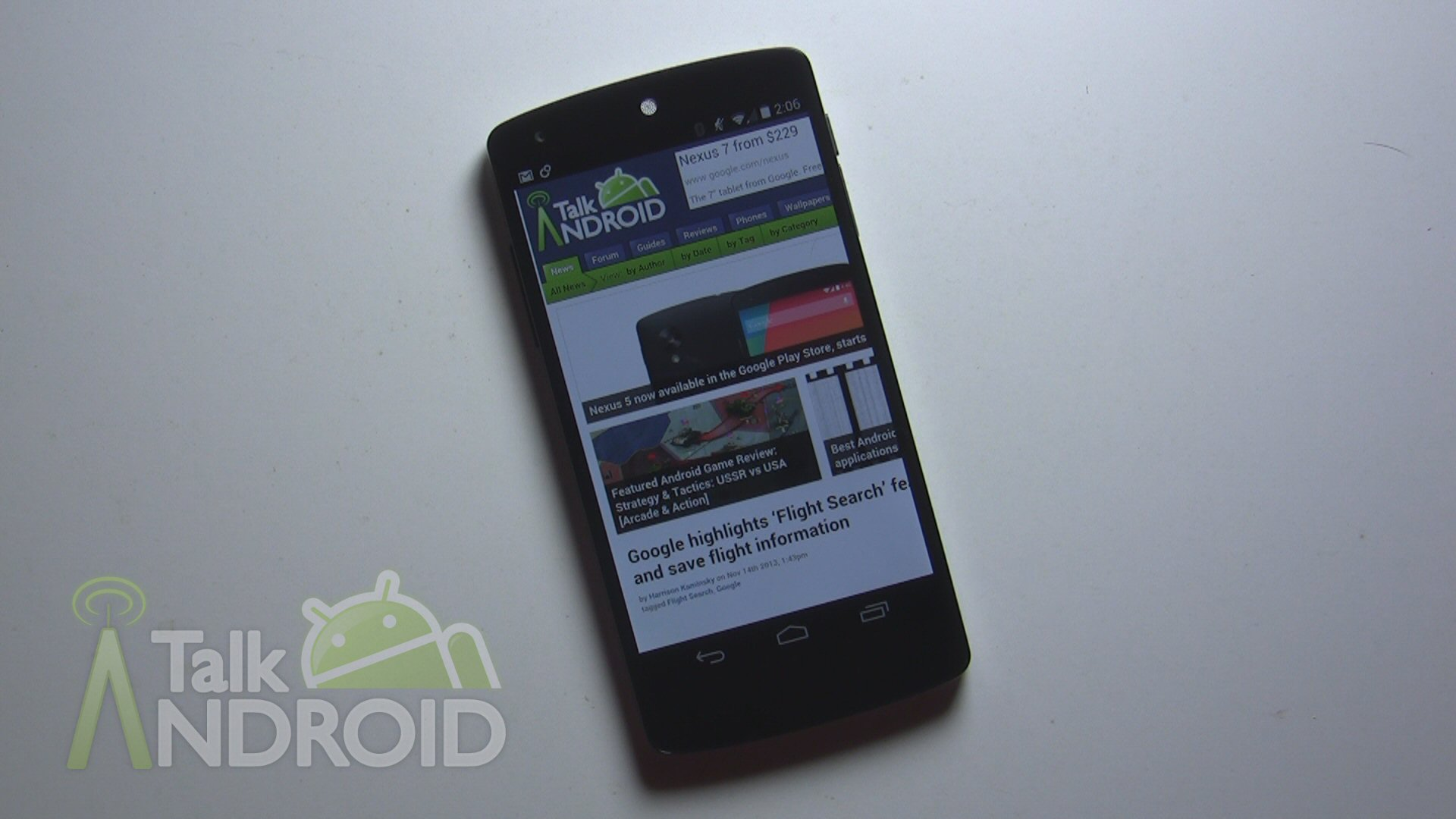 Firefox OS nightly now compatible with Nexus 5 | TalkAndroid com