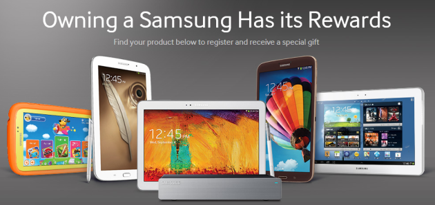 Samsung now giving away up to $600-worth in freebies to tablet buyers in US