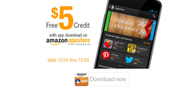 Amazon giving away $5 Appstore gift cards for downloading any app, more freebies