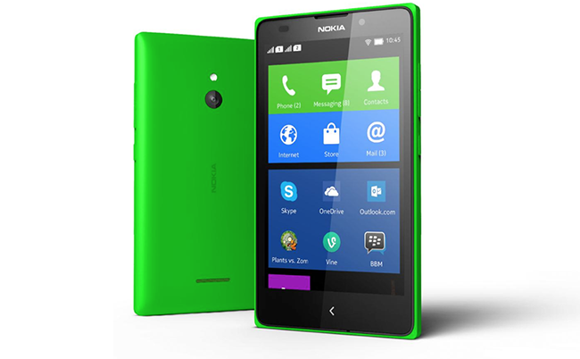 Sideloading APKs on the Nokia X works just like any other