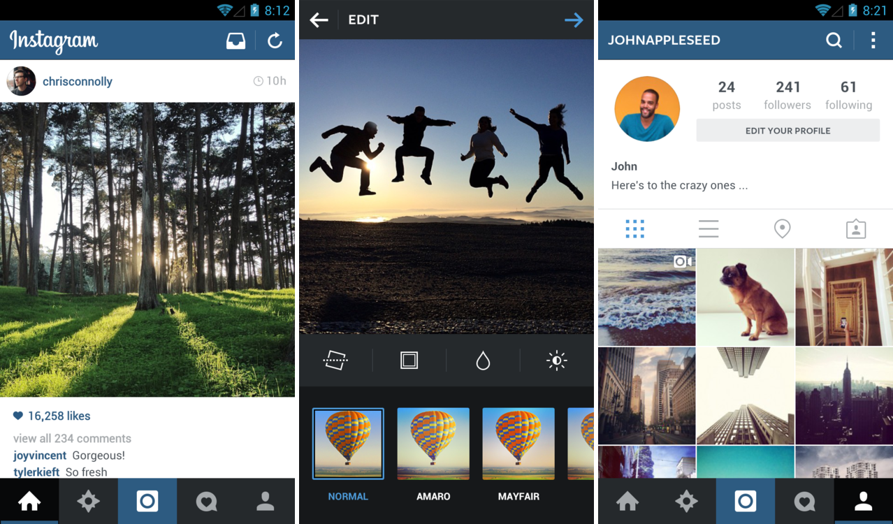 Instagram Receives A New Update Brings A Refreshed User