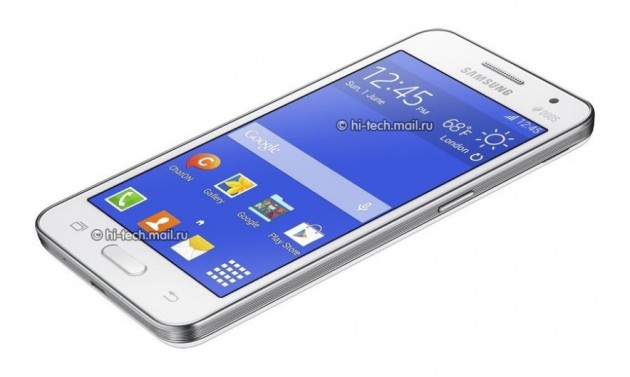 Samsung Galaxy Core 2 pictures and specs leaked