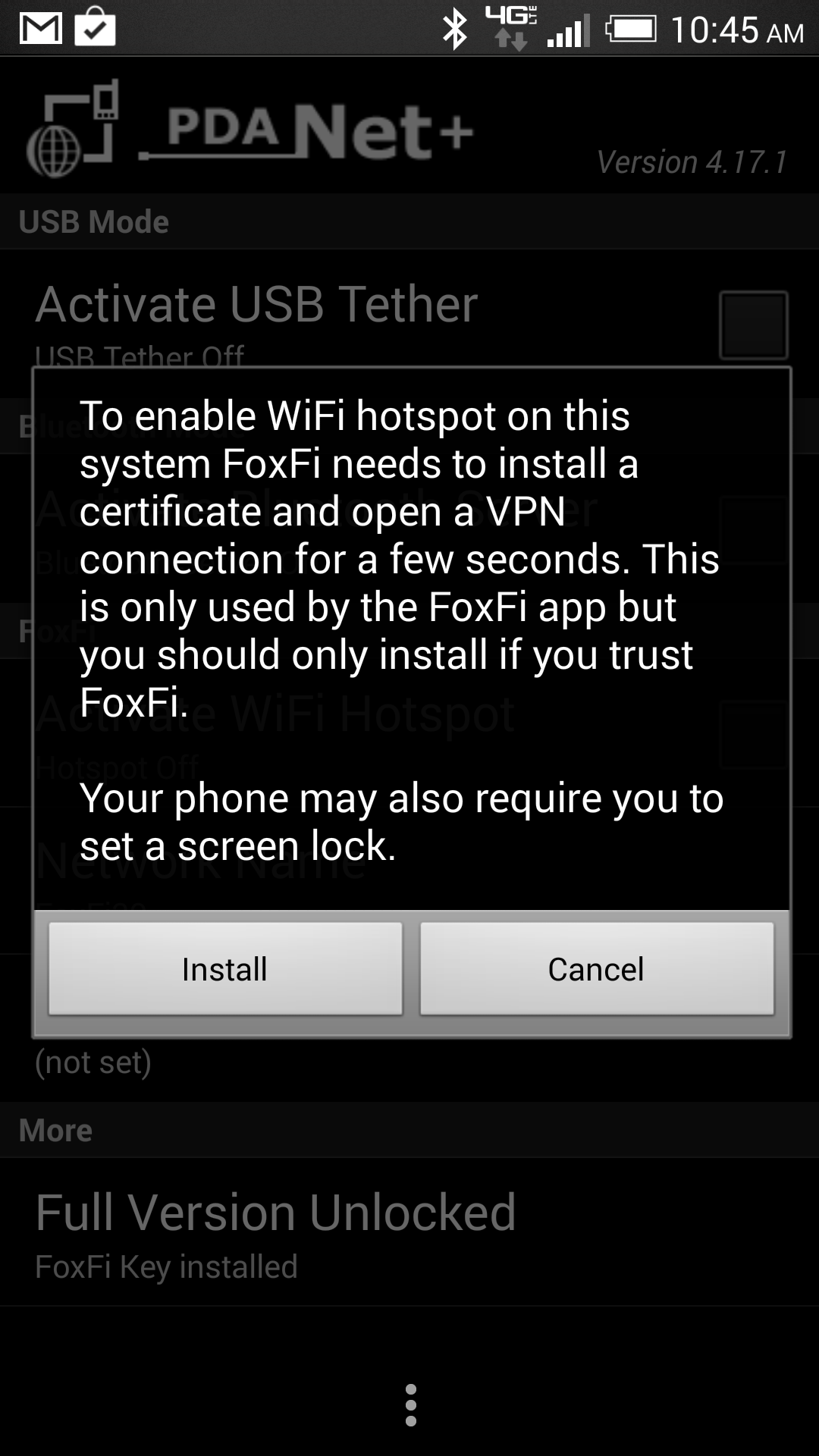 How to set up a wireless hotspot for tethering on Android to