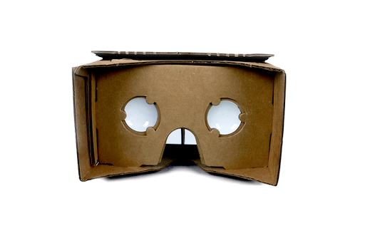 Build your own cardboard virtual reality headset courtesy of Google
