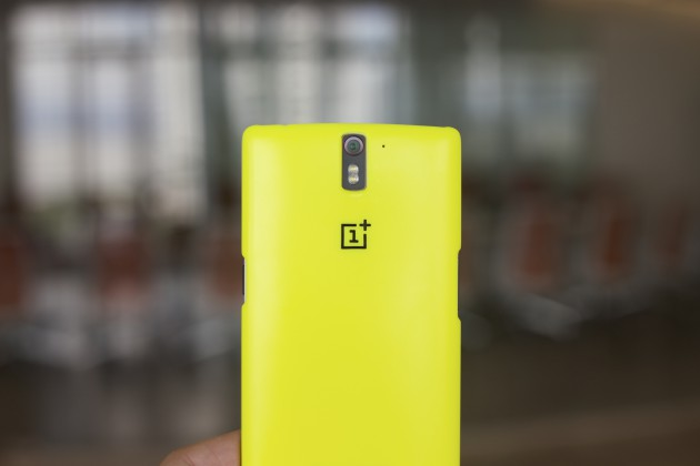 one plus one yellow case