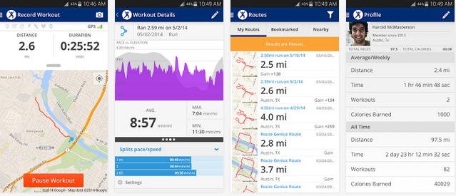 MapMyFitness gets Google Fit integration and an Activity ... on