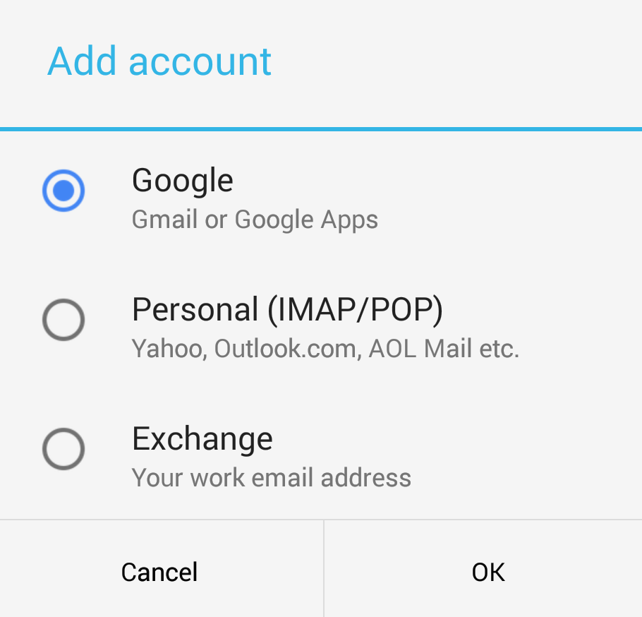 Gmail 5 0 with Material Design and Exchange support now