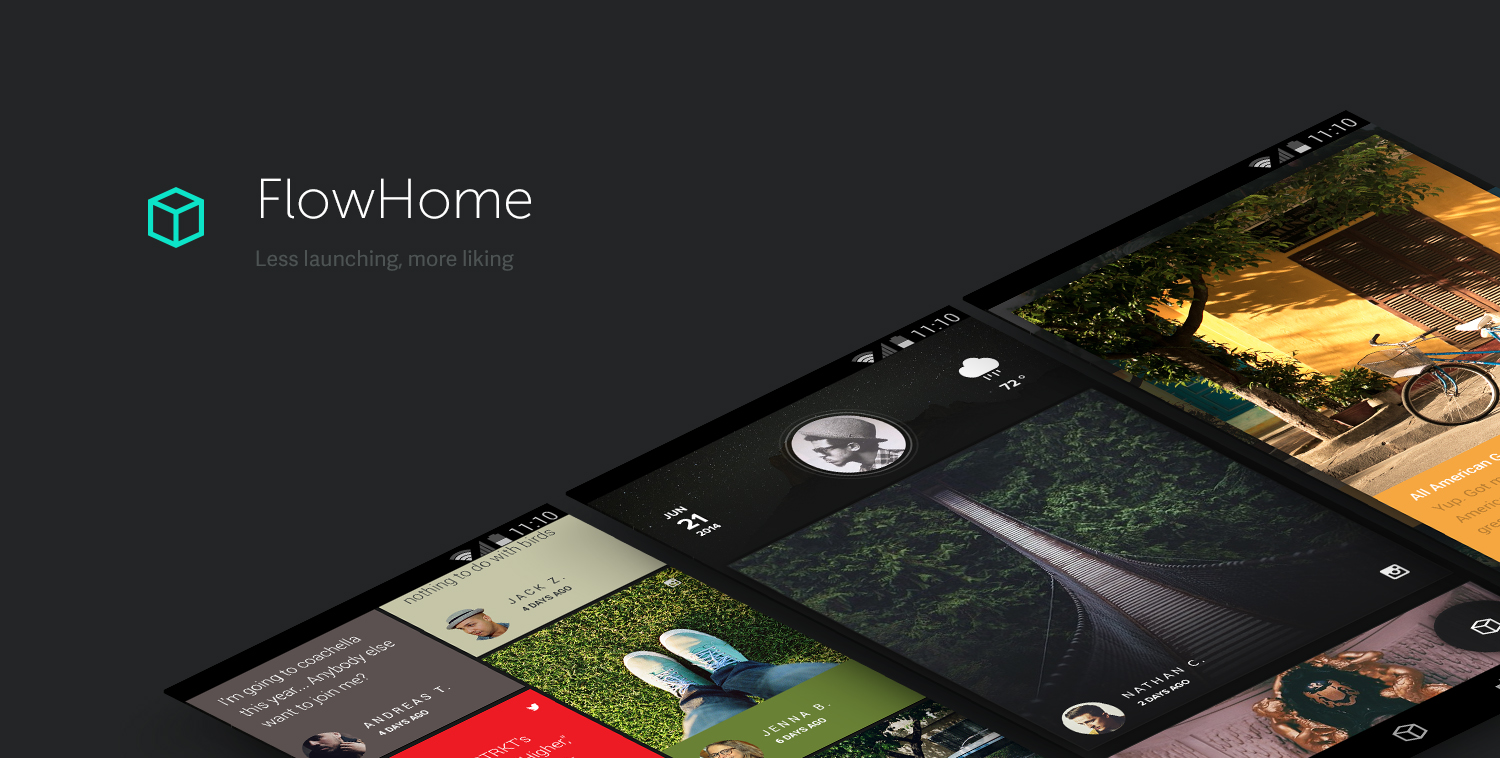 Flow Home Review: A Windows 8 Styled Home Screen Launcher