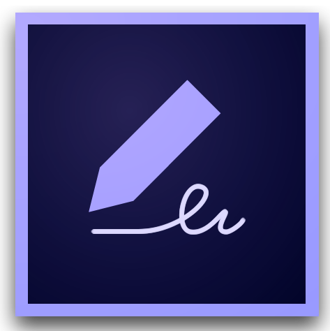 Adobe Fill and Sign Icon