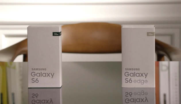 Galaxy S6 unboxing