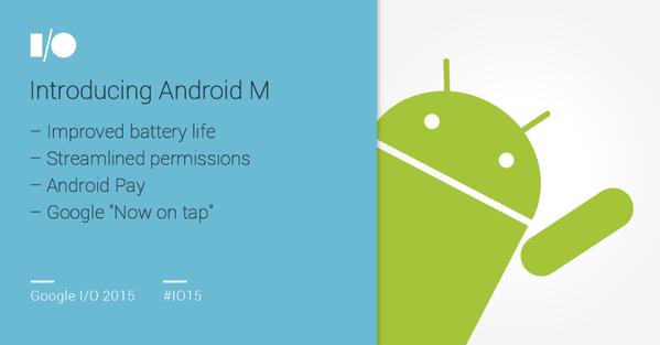 Android M - Google IO 2015