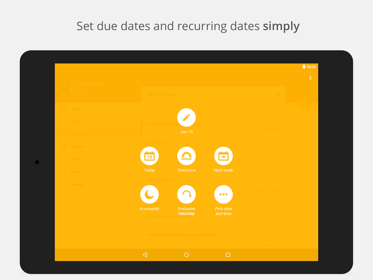 ToDoIst for Android update brings Material Design to the