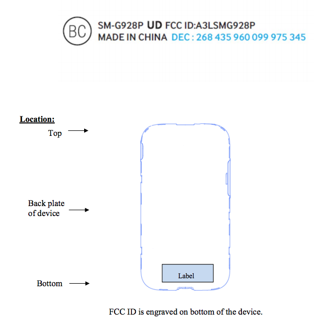 Sprint's Galaxy Note 5 and Galaxy S6 Edge+ head to the FCC