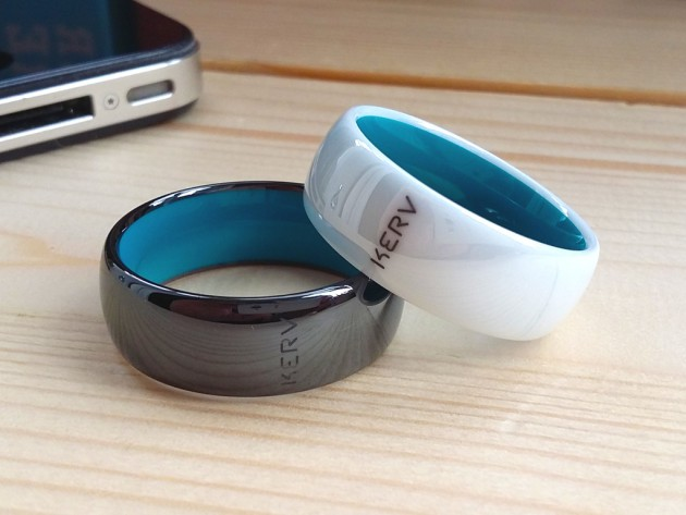 Kerv is the world's first contactless payment ring that never needs to be charged or connected to a smartphone