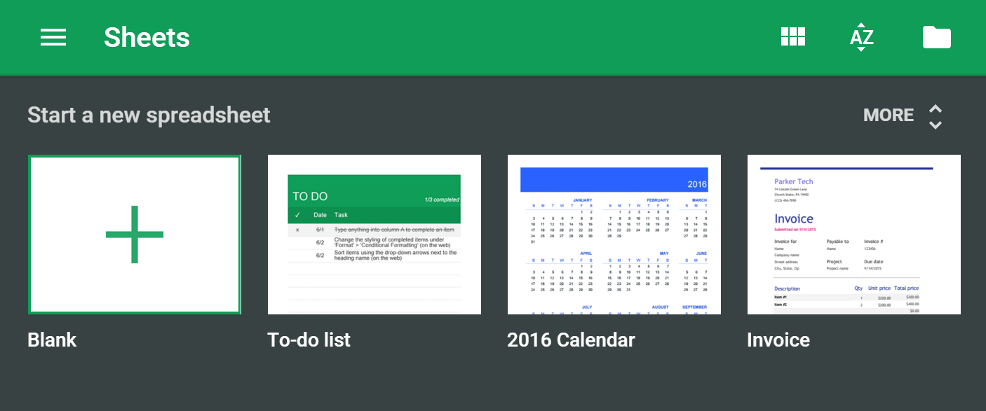 Templates Head To Google Docs Sheets And Slides Apps Talkandroid