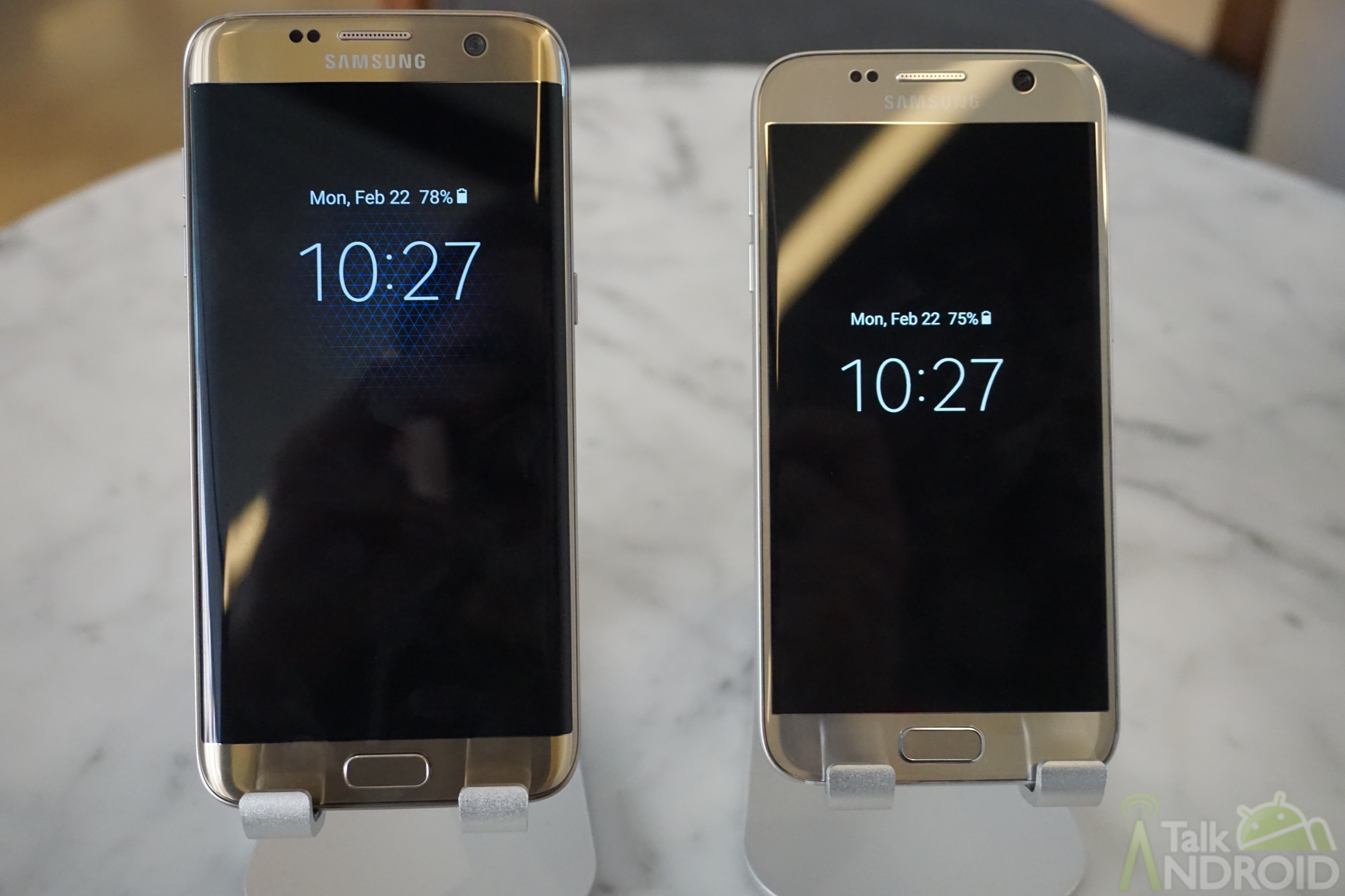 Setting up the always-on display on the Galaxy S7 and S7 Edge |