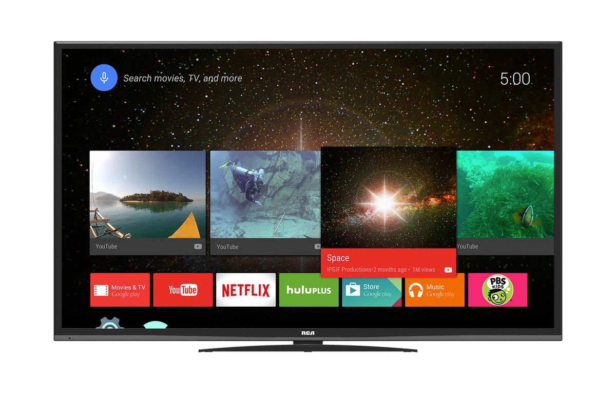 Rca To Launch Three Massive 4k Android Tvs This June