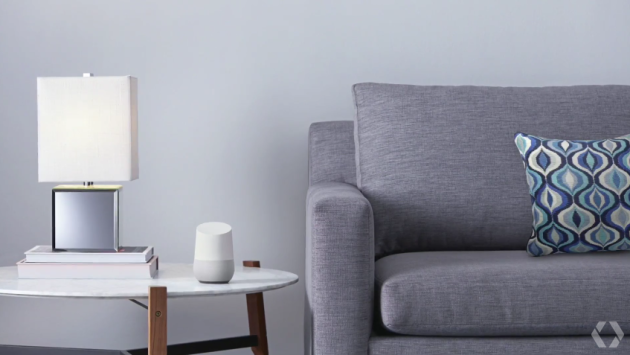 google_home_in_living_room