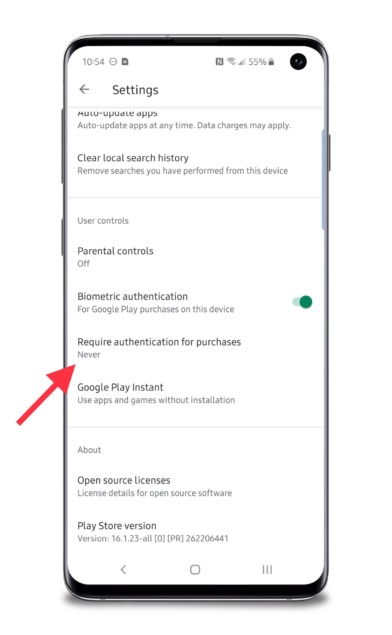 Adding password protection to Google Play for preventing unwanted
