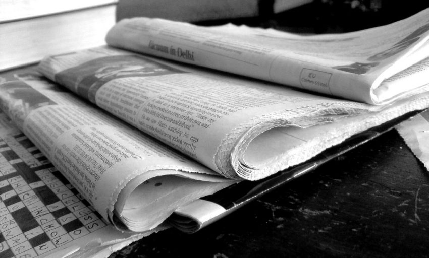 newspaper_black_and_white