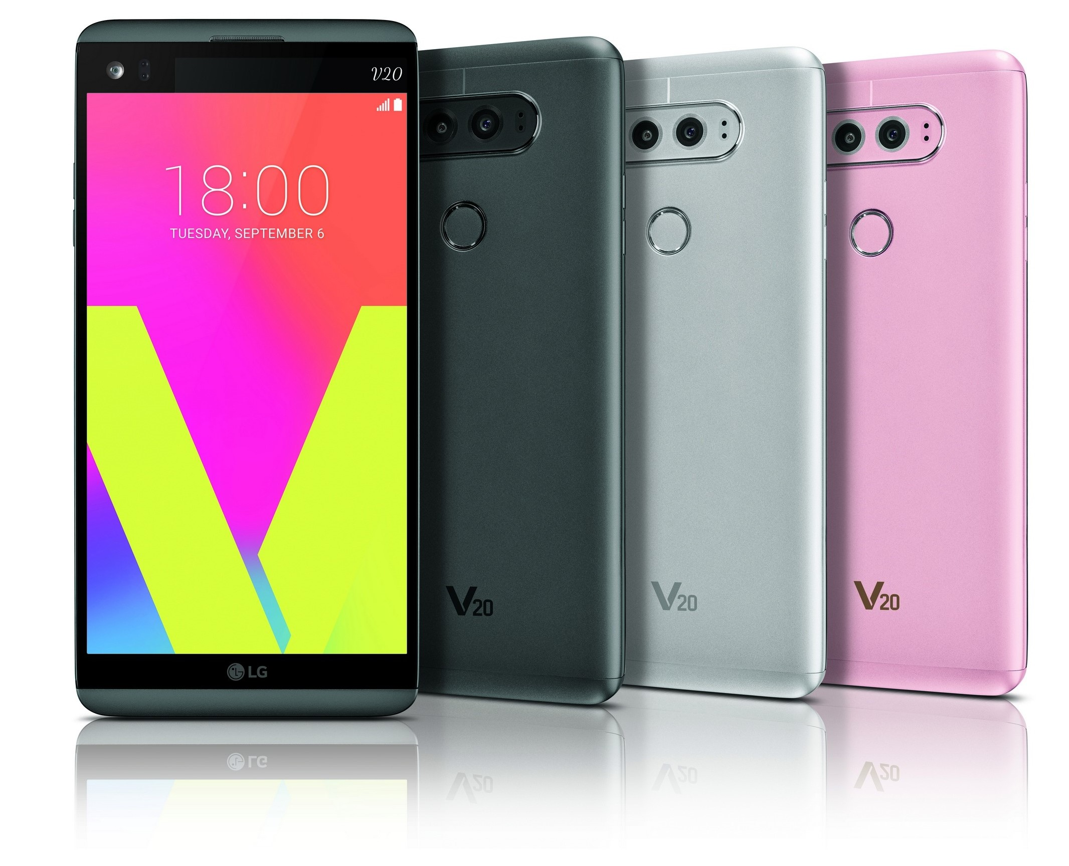 Here are the LG V20 colors