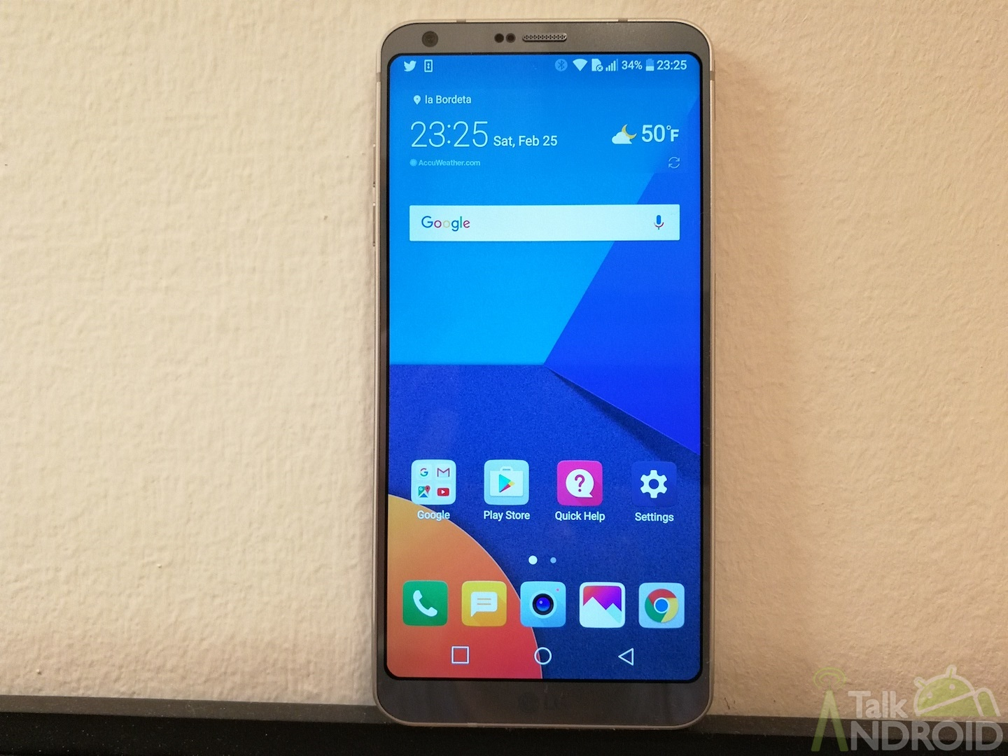 Welcome The Lg G6 A Phone With Google Assistant Built In