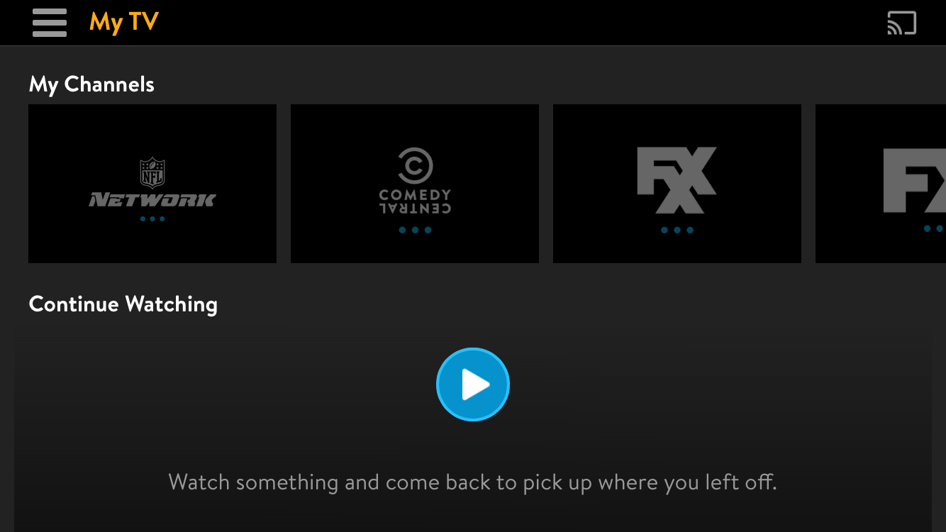 Sling tv review sling allows you to pick a few favorite channels that will show up in front of everything else and these sync across devices if you watch something on buycottarizona