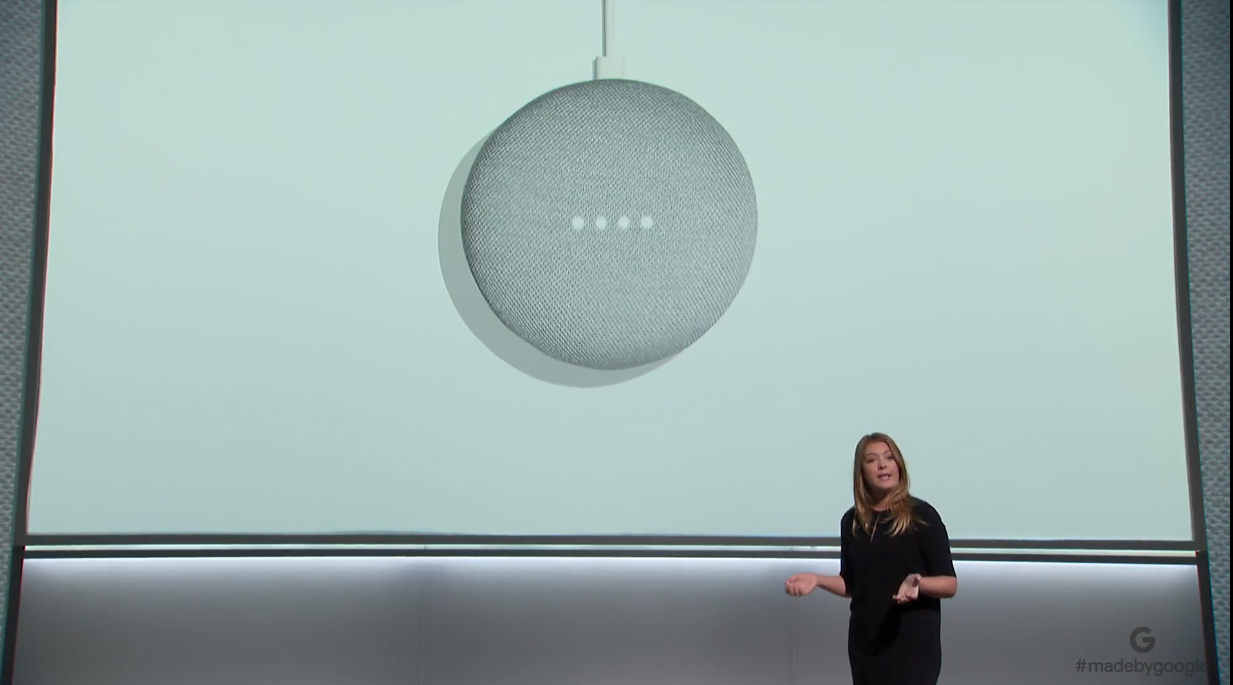 Google Home Mini is official, costs $49 and launches October