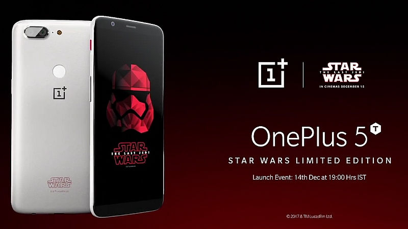 OnePlus Announces 5T Star Wars Edition