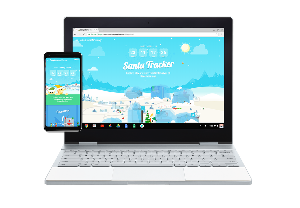 NORAD's Santa tracker website is now live for the 2017 holiday season