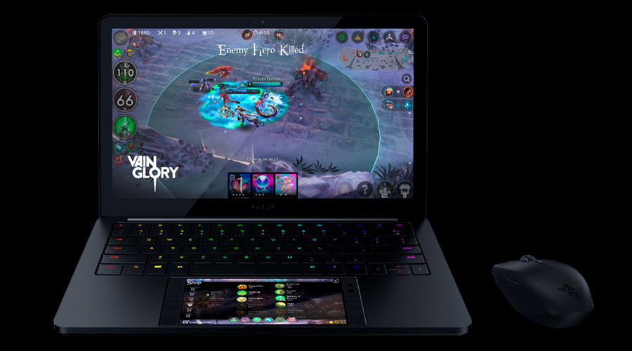 Razer's new Project Linda is a Laptop Dock for the Razer Phone